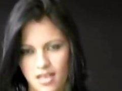 Nice-looking Latina Babe Hardcore Anal Creampie