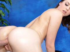 Brooke seduced and screwed hard by her massage therapist