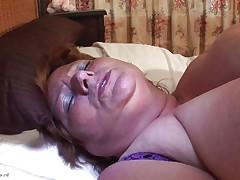 Brigit is one of these giant granny women that could gulp a sextoy like a candy bar. This hottie is masturbating and inserts that sex toy in her wet crack all the way in making sure that hottie has it inside. Her fat cookie receives it with no problems and now that hottie can have a fun herself. This hottie is giant but her sex drive is even bigger then her.