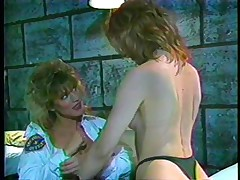 Here's a classic! The female guardian is in inspection, making sure her convict is behaving. This babe gives a decision to give that wench a treatment and licks her bawdy cleft during the time that taking care of her own. Find out what those bitches are going to do in the prison cell and if they will have any horny visitors!