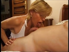 French Older Give Some Experience To Young Guy