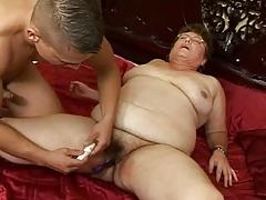 Hairy Fat Grandma Copulates