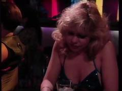 Classic porn with Rebecca Wild picking up a guy at the bar and getting screwed