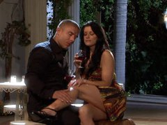 Drunk Brunette hair MILF India Summer Gets Screwed Doggy Style and Facialized