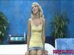 Those 3 gals drilled hard by their massage therapist